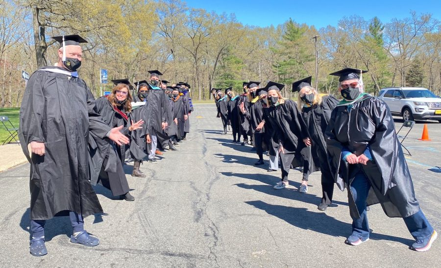 MCC faculty welcome the Class of 2021 to the 93rd annual commencement ceremony on May 5 (Photo courtesy of Kristina Broughton).