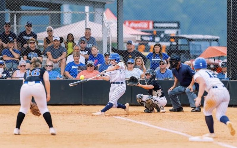 MCC's Lady Jayhawks went all the way to Nationals this year! Though the team lost their first game in Nationals 1-9, the group had a fantastic season (contributed photo).