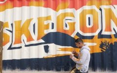 Shipping Container Becomes Beachfront Canvas for Local Artist